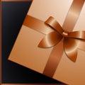 Realistic gift box Vector illustration