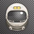 Realistic Helmet 3d Cosmonaut Astronaut