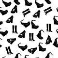 Realistic ladies shoe.
