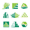 Realty symbol different for design use Stock Photography