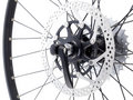 Rear bicycle cog cassette Stock Photography