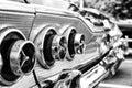 The rear brake lights Car Chevrolet Impala SS Convertible Royalty Free Stock Photo