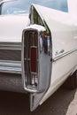 The rear brake lights full-size luxury car Cadillac Sedan De Ville Royalty Free Stock Photo