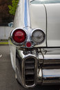 The rear brake lights of oldtimer Cadillac Series 62 (Fifth generation) Royalty Free Stock Photo