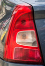 Rear car tail light close up macro Royalty Free Stock Photo