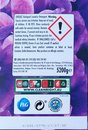 Rear Label and Symbols on a Extra large 80 Wash XXL Bold Branded Washing Powder in Recyclable Cardboard Box