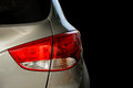 Rear light of a car Royalty Free Stock Photo