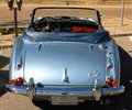 Rear View Of A Classic Antique blue Austin Healey Royalty Free Stock Photo