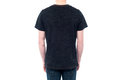 Rear view of young guy in casuals cropped image man shirt and jeans Royalty Free Stock Photography