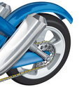 Rear wheel motorcycle Royalty Free Stock Photography