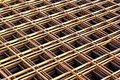 Rebar grids Royalty Free Stock Photo
