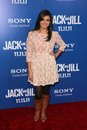 Rebecca black at the jack and jill world premiere village theater westwood ca Stock Images