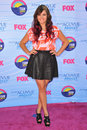 Rebecca black at the teen choice awards at the gibson amphitheatre universal city july los angeles ca picture paul smith Stock Photo