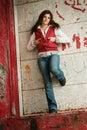Rebel girl Royalty Free Stock Photo