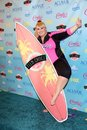 Rebel wilson at the teen choice awards press room gibson amphitheatre universal city ca Royalty Free Stock Photo
