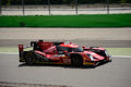 Rebellion racing r one aers lmp test at monza swiss team is testing his upgraded in preparation of the hours of le mans this oreca Royalty Free Stock Photos