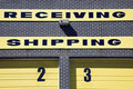 Receiving and Shipping Royalty Free Stock Photo