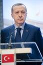 Recep Tayyip Erdogan Royalty Free Stock Photo