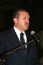 Recep tayyip erdogan the prime minister of turkey Stock Image