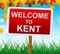 Recepción al país de kent shows united kingdom and Imagenes de archivo