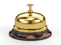 Reception bell on white Royalty Free Stock Photos