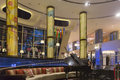Reception lobby area in luxurious hotel, Dubai, UAE Royalty Free Stock Photo