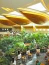 Reception lobby area in luxury hotel Royalty Free Stock Photo