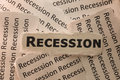 Recession Stock Photography