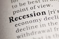Recession Royalty Free Stock Photo