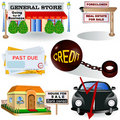 Recession images 3 Royalty Free Stock Photography