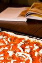 Recette de pizza Photo stock