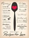 Recipe For Love Creative Weddi...
