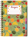 Recipe notebook Stock Image