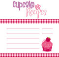Recipe Template Stock Images