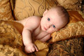Reclining Baby Royalty Free Stock Photo