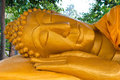 Reclining Buddha image Stock Photography