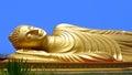 Reclining Buddha Royalty Free Stock Photo
