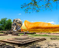 Reclining Buddha at Wat Lokayasutharam, Ayutthaya, Thailand