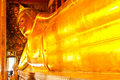 Reclining Buddha at Wat pho. Stock Image
