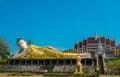 Reclining image of Buddha Royalty Free Stock Photo