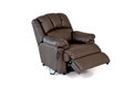 Reclining leather chair Royalty Free Stock Photo