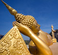 Reclining Thai buddha Stock Images