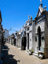Recoleta cementary the cemetery is one of the main tourist attractions in the neighborhood it is an outstanding display of Stock Image