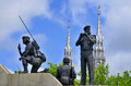 Reconciliation the Peacekeeping Monument Royalty Free Stock Photo