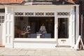 Record, CD and hi-fi shop front exterior Royalty Free Stock Photo