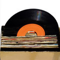 Record collection Royalty Free Stock Photos