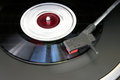 Record player closeup Royalty Free Stock Photo