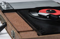 Record player desaturate Royalty Free Stock Photo