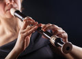 Recorder Royalty Free Stock Photo