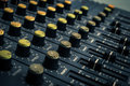 Recording mixer dj music sound remix image Stock Image